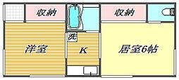 寿荘[2階]の間取り