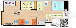 小田急小田原線 鶴川駅 バス18分 やくし台3丁目下車 徒歩7分の賃貸アパート 1階1Kの間取り