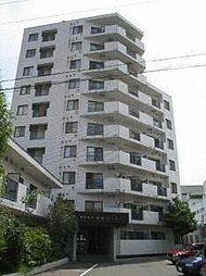 白石コート[10階]の外観