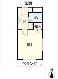 LORM K−2[3階]の間取り