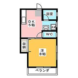 Kタウン[2階]の間取り