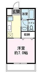 マリンハウス[0102号室]の間取り