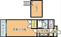 晴和ビル[3階]の間取り