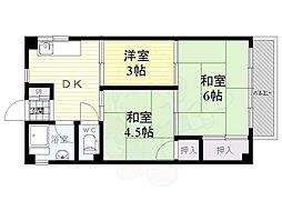 武庫之荘駅 4.2万円