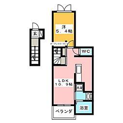 モデッサ[2階]の間取り