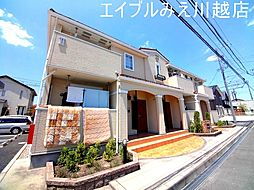 三重県四日市市西富田2丁目の賃貸アパートの外観