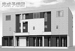 兵庫県姫路市阿保の賃貸アパートの外観