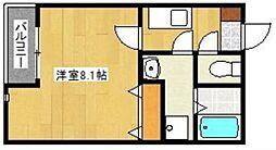 クリスタル1香椎駅東[1階]の間取り