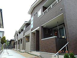 東京都八王子市大谷町の賃貸アパートの外観