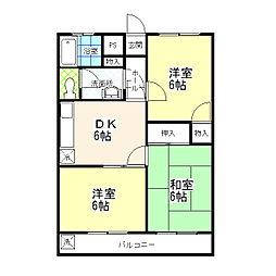 KIマンション[ 302号室]の間取り