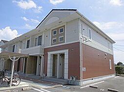 徳島県板野郡北島町中村字江口の賃貸アパートの外観