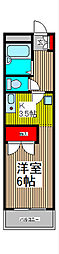 神田ハイツ[3階]の間取り