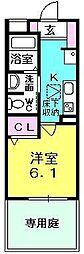 シャーメゾン津門[101号室]の間取り