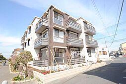 埼玉県越谷市東越谷7丁目の賃貸マンションの外観