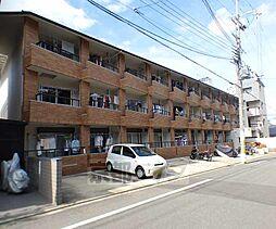 京都府京都市北区紫竹西栗栖町の賃貸マンションの外観
