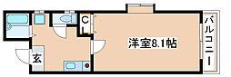 兵庫県神戸市長田区西代通2丁目の賃貸マンションの間取り