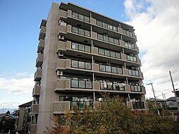 滋賀県栗東市安養寺5丁目の賃貸マンションの外観