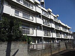東京都東久留米市前沢1丁目の賃貸マンションの外観