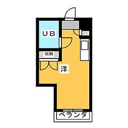 ラ・レジダンス・ド・ノーブル[7階]の間取り