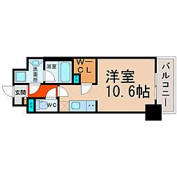 愛知県名古屋市港区港陽3丁目の賃貸マンションの間取り