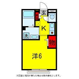 コンフォートヒル[2階]の間取り