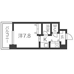 AXIS桜通内山[7階]の間取り