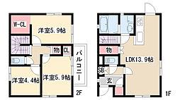 [一戸建] 愛知県名古屋市緑区徳重4丁目 の賃貸【/】の間取り