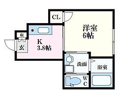 広島電鉄宮島線 修大協創中高前駅 徒歩10分の賃貸アパート