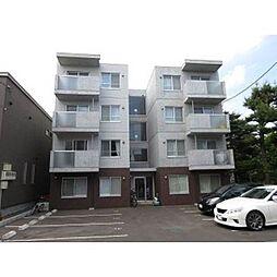 北海道札幌市白石区中央一条5丁目の賃貸マンションの外観
