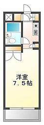 (分譲)サンロイヤル鳴尾[4階]の間取り