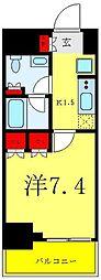 リビオメゾン御茶ノ水 9階1Kの間取り