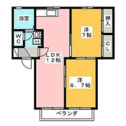 スマイル[2階]の間取り