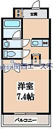 GIGLIO大阪城南(ジリオ大阪城南)[3階]の間取り