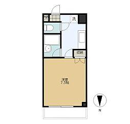 ラ・コール栄5[3階]の間取り