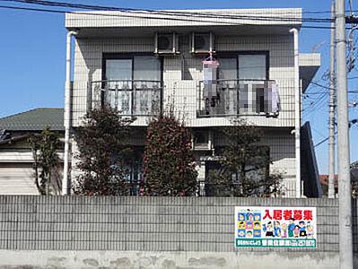 外観,1K,面積24.18m2,賃料3.5万円,JR常磐線 赤塚駅 徒歩25分,,茨城県水戸市石川