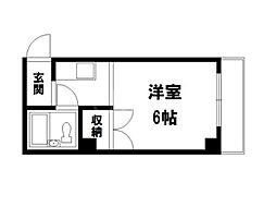 北野ハイツ[2階]の間取り