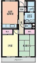 セントロ習志野[4階]の間取り