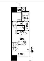 ファミール新宿グランスィートタワー[2階]の間取り