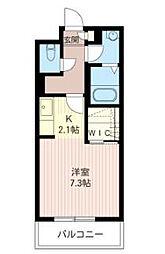 ルバージュ63[2階]の間取り
