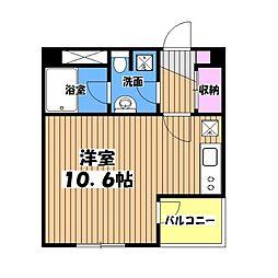 東亜建設第6ビル[2階]の間取り