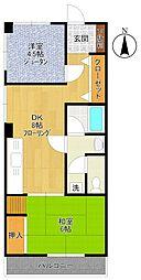 平野ビル[3階]の間取り