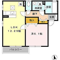 D-room D[2階]の間取り