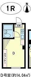 アイルイン綱島[3階]の間取り