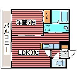 レジーナ福住[3階]の間取り