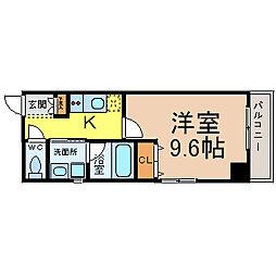 第15フクマルビル[7階]の間取り
