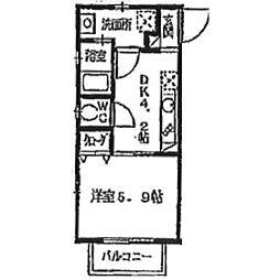 リブレア井尻駅前[102号室]の間取り
