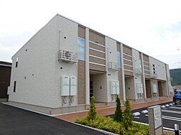 岡山県倉敷市林の賃貸アパートの外観