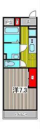 Cerulean[2階]の間取り