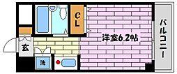 兵庫県芦屋市茶屋之町の賃貸マンションの間取り