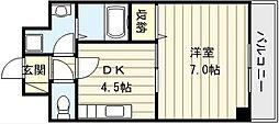 ウォンテ[4階]の間取り